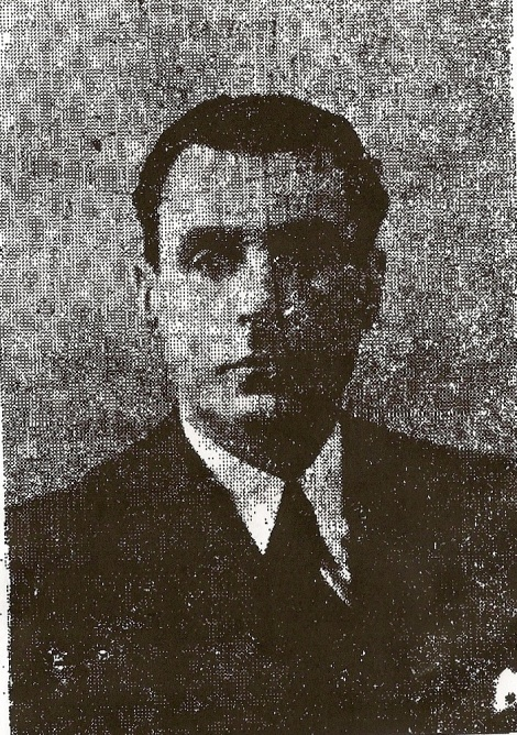 Diego Jiménez Castellano, gobernador civil de Huelva el 18 de julio de 1936. fusilado el 4 de agosto en el Parque Moret.